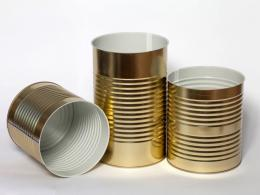 Cylindrical packaging for food products